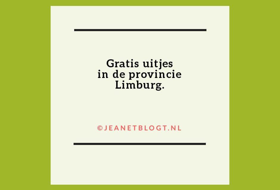 Gratis uitjes in de provincie Limburg.