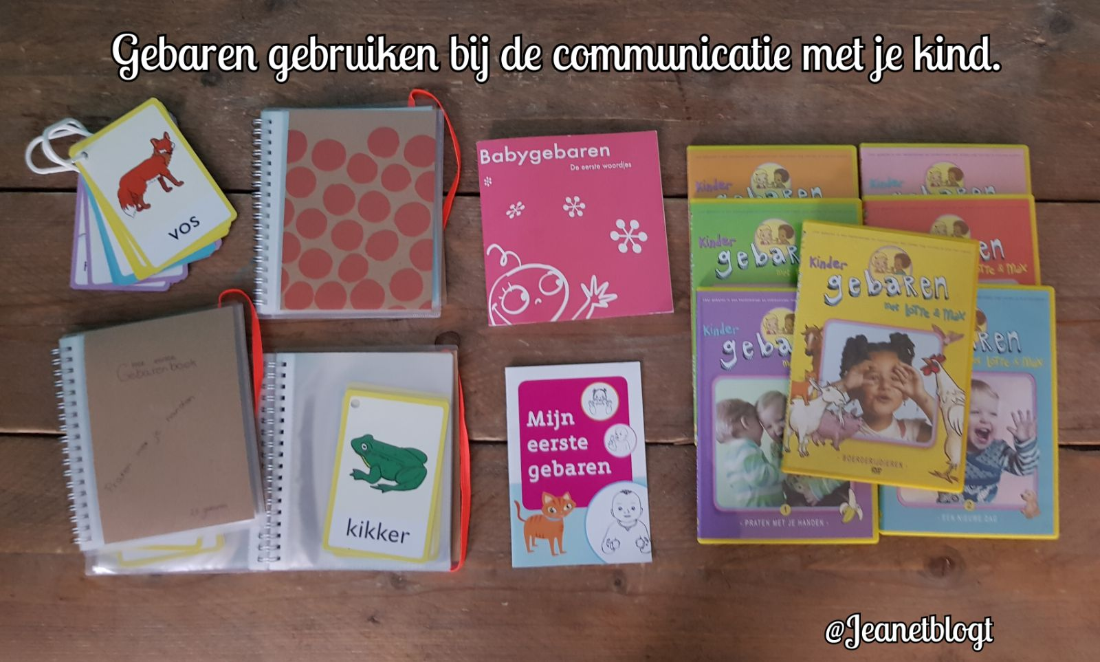 Gebaren gebruiken bij de communicatie met je kind.