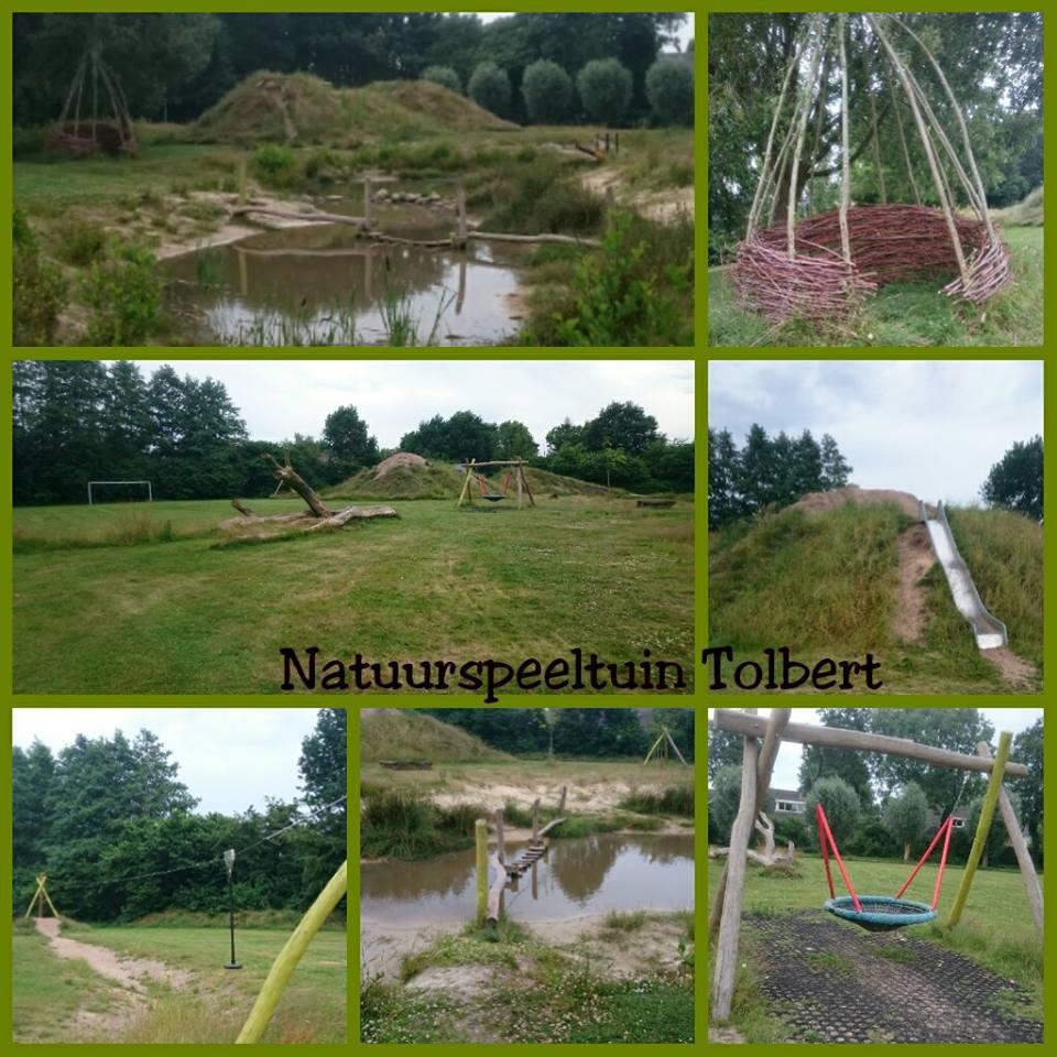 Natuurspeeltuin vlakbij Sintmaheerdt in Tolbert.