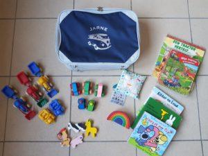 vakantie speelkoffer