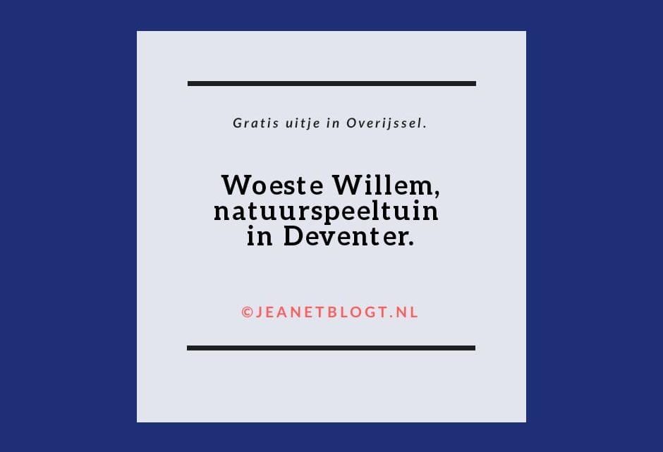 Woeste Willem, natuurspeeltuin in Deventer.