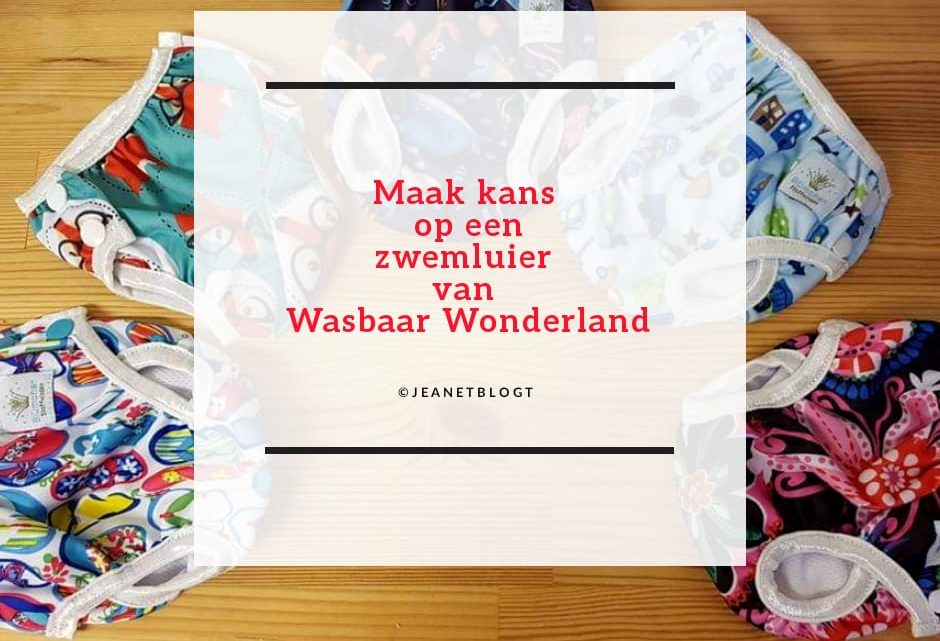 Zwemluier van Wasbaar Wonderland.