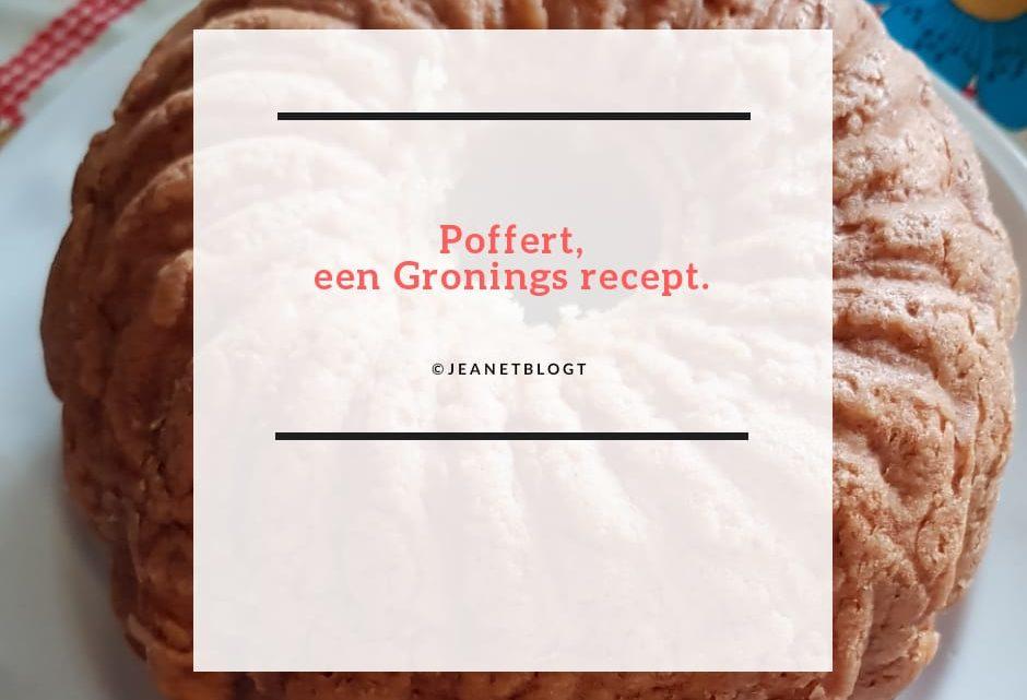 Poffert, een Gronings recept.