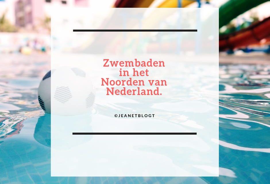 Zwembaden in het noorden van Nederland.