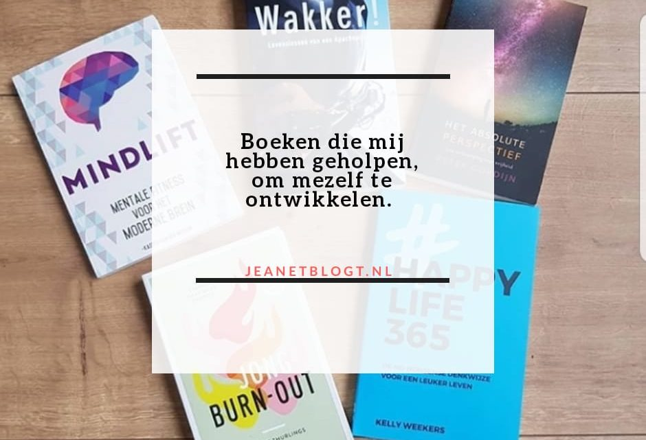 Boeken die mij hebben geholpen, om mezelf te ontwikkelen.